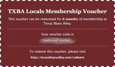 The Perfect Gift: TXBA Membership Vouchers